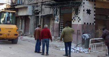 """صور.. """"تضامن الإسكندرية: حصر ضحايا عقار العطارين لصرف التعويضات"""
