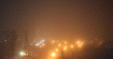 """صور.. """"ضباب إشعاعى"""" يغطى سماء دمشق وانتشار رائحة كريهة فى ظاهرة غريبة"""