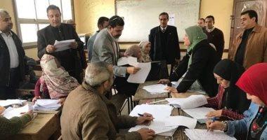 مدير تعليمية بنها يحيل المتخلفين عن التصحيح الورقي الثاني والأول الثانوي للشؤن القانونيه