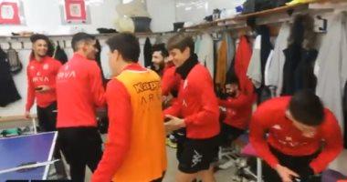 شاهد فرحة هيسترية لفريق سالامنكا بعد تأكد مواجهة ريال مدريد فى الكأس