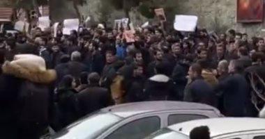 تواصل التظاهرات الطلابية فى إيران لليوم الرابع بجامعة بهشتى.. فيديو