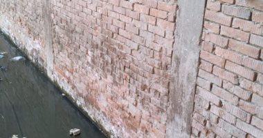 شكوى من انتشار مياه الصرف الصحى ببشارع العروبة بالمنصورة ثان بالدقهلية