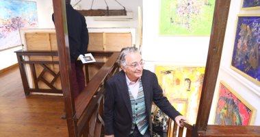 شاهد لوحات الفنان أحمد فريد فى معرض تراكم