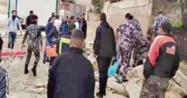 سور مدرسة بالأردن ينهى حياة 3 عمال مصريين.. والقوى العاملة تتابع وصول الجثامين