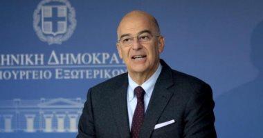 وزير خارجية اليونان يغادر القاهرة بعد توقيع اتفاقية تعيين الحدود البحرية