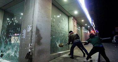شغب فى مواجهات بين محتجين وقوات الأمن فى بيروت