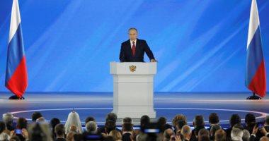 الرئيس الروسى فلاديمير بوتين يوجه رسالته السنوية إلى مجلس الدوما