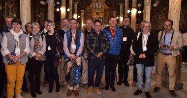 وفد الجمعية الوطنية للحج المسيحى يٌنهى زيارته لنقاط رحلة العائلة المقدسة بمصر