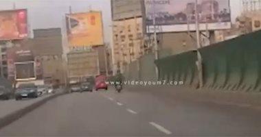 فيديو.. سيولة مرورية أعلى كوبرى أكتوبر اتجاه مدينة نصر إلى المهندسين