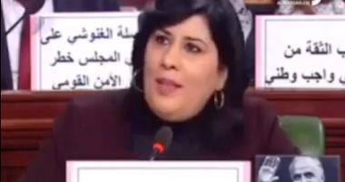فيديو.. نائبة تونسية: الغنوشى إخوانى لديه أجندة خارجية ويتآمر على ليبيا