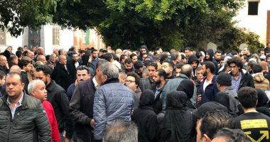 صور.. تشييع جثمان ناشئ المصرى البورسعيدى بعد وفاته بأزمة قلبية