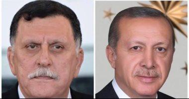 المؤامرة على ليبيا مستمرة.. لقاء جديد بين السراج وأردوغان فى إسطنبول