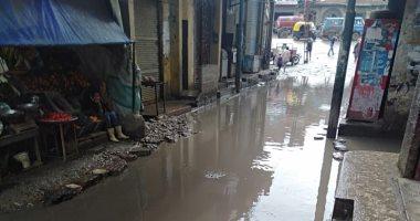 قارئ يشكو استمرار انتشار مياه الصرف الصحى بقرية جماجمون بكفر الشيخ