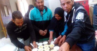 صور.. تدريب سيدات قرية المنيرة بالوادى الجديد على صناعة منتجات الألبان