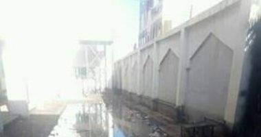 شكوى من محاصرة مياه الصرف الصحى لسكان قرية المندورة فى كفر الشيخ