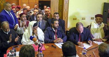 موسى مصطفى موسى: ندعم الجيش الليبي ضد أى احتلال عثماني يريد تدمير المنطقة