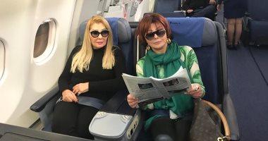 """لقاء العمالقة.. نبيلة عبيد ونجمة الجماهير تطيران للبنان لتصوير """"نساء من ذهب"""""""