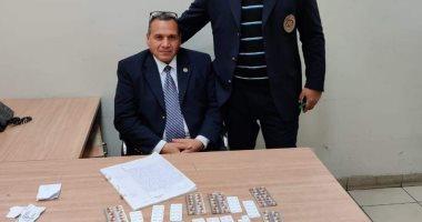 جمارك مطار القاهرة تضبط محاولة تهريب كمية من الأقراص والمواد المخدرة