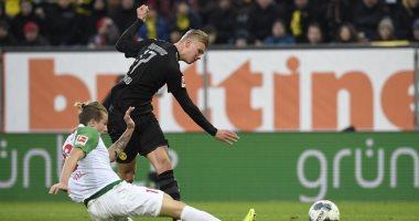 هاتريك هالاند يقود ريمونتادا دورتموند أمام أوجسبورج فى الدوري الألماني.. فيديو