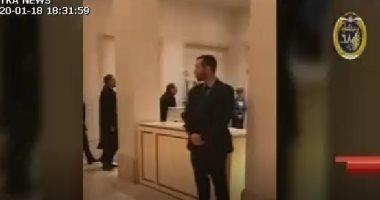 """شاهد..وصول الرئيس السيسى لمقر إقامته بألمانيا للمشاركة فى مؤتمر """"برلين"""""""