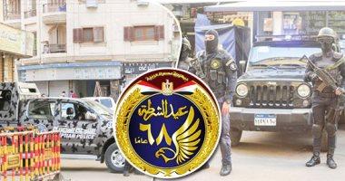 """فى عيد الشرطة المصرية.. تحية من الجيش لـ"""" أبطال الداخلية"""""""