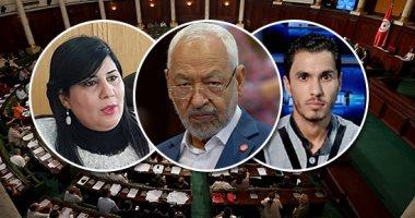 إكسترا نيوز تبرز تزايد التهديدات والتكفير داخل البرلمان التونسى بسبب حركة النهضة