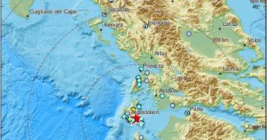زلزال بقوة 5 درجات على مقياس ريختر يضرب اليونان