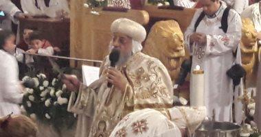 البابا تواضروس: الأقباط كانوا يحتفلون بعيد الغطاس بالنزول فى مياه النهر