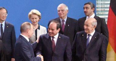 فيديو.. بدء توافد القادة المشاركين بمؤتمر برلين حول ليبيا بمشاركة الرئيس السيسي