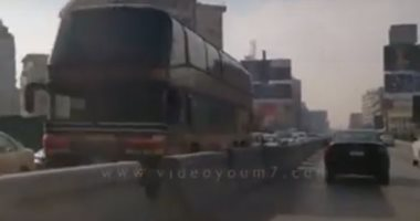 فيديو.. زحام مرورى شديد على كوبرى 6 أكتوبر اتجاه مدينة نصر
