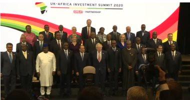الرئيس السيسى والقادة الأفارقة