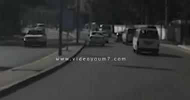"""فيديو.. تعرف على الحالة المرورية بكورنيش النيل """"روض الفرج – التحرير"""""""