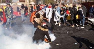 متظاهرو العراق يقطعون الطريق الدولى بين بغداد ومحافظة بابل