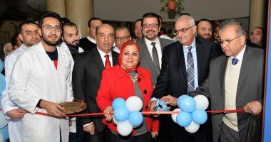 صور.. رئيس جامعة المنصورة يفتتح تجديدات قسم 7 جراحة بمستشفى الجامعة الرئيسى -