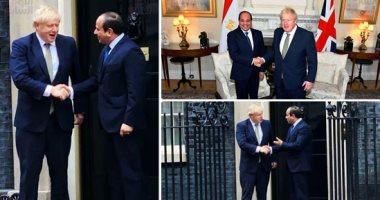 الحكومة البريطانية: السيسى وجونسون رحبا باستئناف الرحلات إلى شرم الشيخ