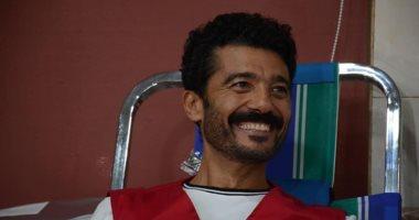 """لقاء الخميسى تدعم خالد النبوى بعد تعافيه من وعكته الصحية: """"الحب كله"""""""