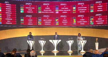 قرعة كاس العالم 2022.. تعرف على جميع المجموعات بتصفيات أفريقيا