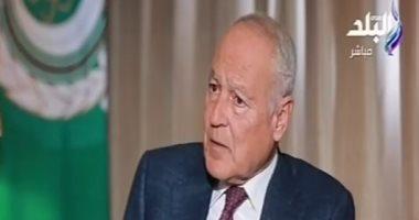 أبو الغيط: هناك محاولات من فرنسا وبريطانيا وألمانيا لإصدار قرار هام بشأن ليبيا