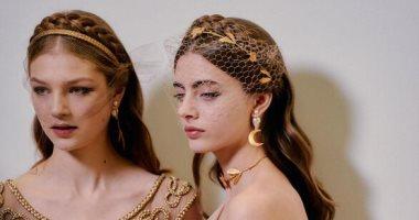 """عرض أزياء """"هوت كوتور"""" فى باريس يتزين بإطلالة لأفضل المجوهرات.. صور"""