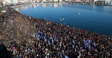 تظاهرات فى الجزر اليونانية بسبب تزايد أعداد المهاجرين