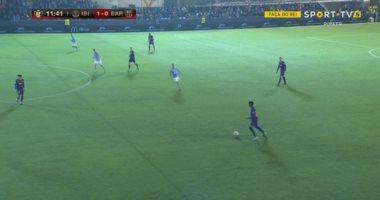 """إيبيزا ضد برشلونة.. الفريق المغمور يحرج البارسا ويتقدم 1-0 """"فيديو"""""""
