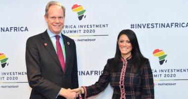 رانيا المشاط: المملكة المتحدة شريك استراتيجى لمصر وأسعى لتدعيم التعاون الاقتصادى