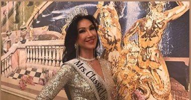 """أم روسية لـ4 أطفال تفوز بمسابقة ملكة جمال """"سيدات الكون 2020"""""""