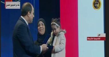 والد شهيد سيناء للرئيس: أنت على الحق المبين وكلنا فداء الوطن