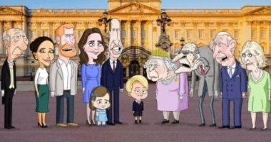 مسلسل كوميدى ومحاكاة ساخرة عن العائلة البريطانية المالكة مايو المقبل