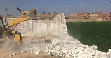 أمن سوهاج: تنفيذ حملات إزالة التعديات على مساحة 9 آلاف و 95 مترا