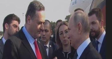 """بوتين يصل تل أبيب للمشاركة فى فعالية ذكرى ما يسمى """"المحرقة النازية"""""""