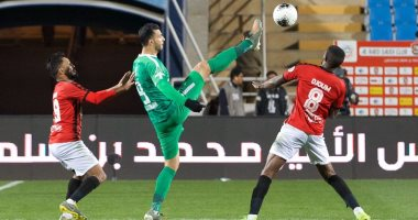 ملخص وأهداف مباراة الرائد ضد الأهلى فى الدوري السعودي