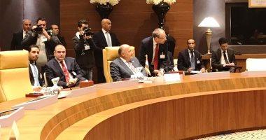 انطلاق اجتماع دول الجوار الليبى بالجزائر بمشاركة سامح شكرى