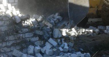 إزالة 30 حالة تعدٍ على زراعات مركز الواسطى فى بنى سويف